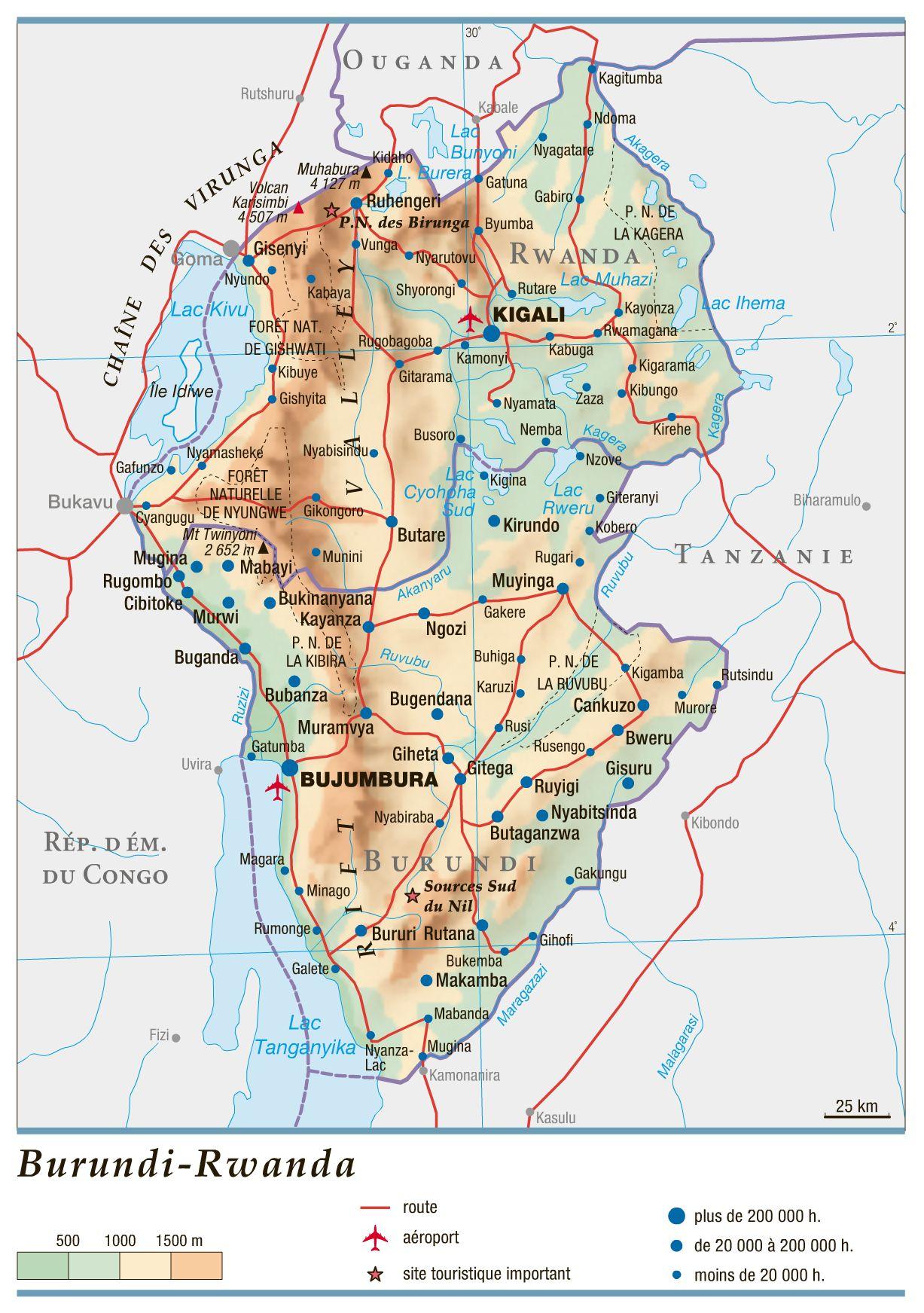 Burundi-Rwanda_topographie